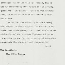 Letter: 1943 June 3