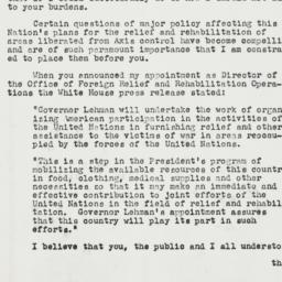 Letter: 1943 August 30