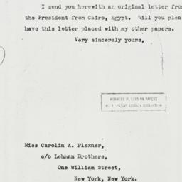 Letter: 1944 January 20