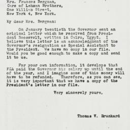 Letter: 1944 March 2