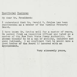 Letter: 1944 October 6