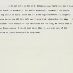 Press release : 1949 March 18
