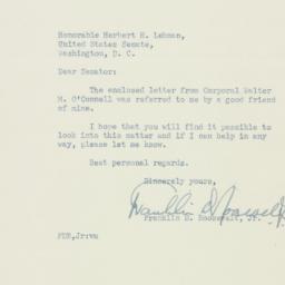 Letter : 1950 December 19