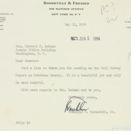 Letter : 1956 May 31