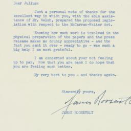 Letter : 1955 February 25