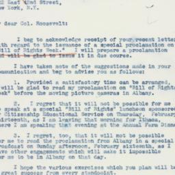 Letter : 1941 February 1