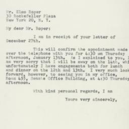 Letter : 1955 January 5