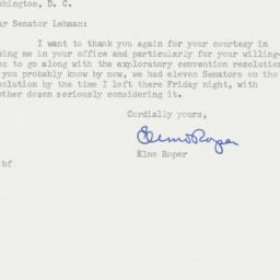 Letter : 1955 January 19