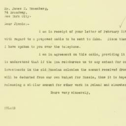 Letter : 1926 March 1