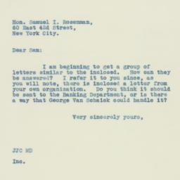 Letter : 1933 May 4