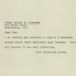 Letter : 1944 November 3