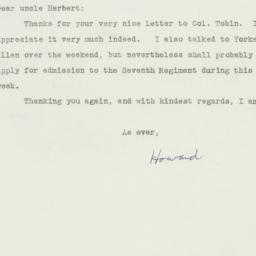 Letter : 1940 September 23
