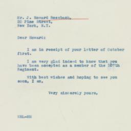 Letter : 1940 October 4