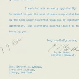Letter : 1933 May 31