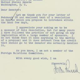 Letter : 1956 March 1