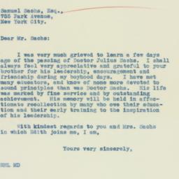 Letter : 1934 February 12