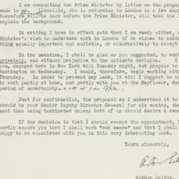 Letter : 1943 December 4