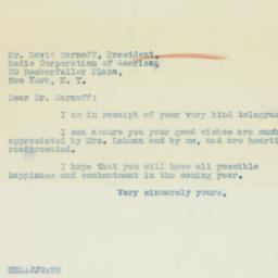 Letter : 1934 January 2