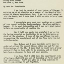 Letter : 1947 February 6
