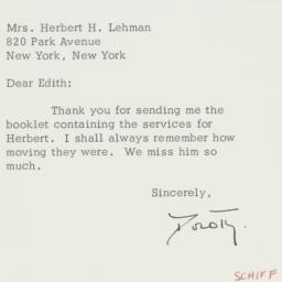 Letter : 1964 December 9