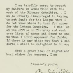 Letter : 1932 October 21