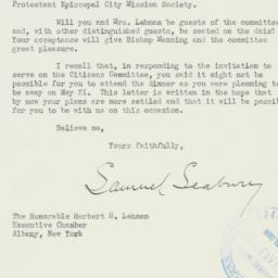 Letter : 1941 May 6
