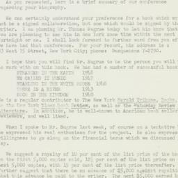 Letter : 1951 June 26
