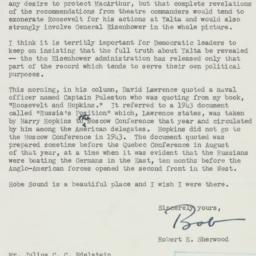 Letter : 1955 April 8