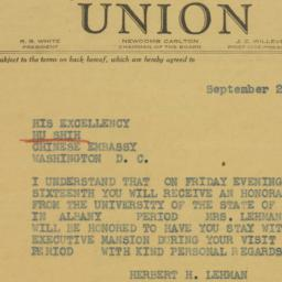 Telegram : 1942 September 28