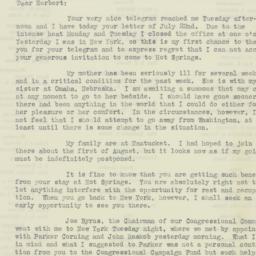 Letter : 1930 July 24