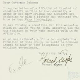 Letter : 1934 April 9