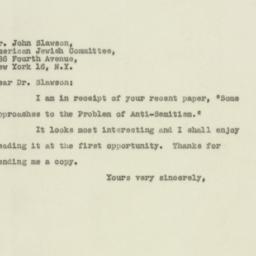 Letter : 1947 April 8