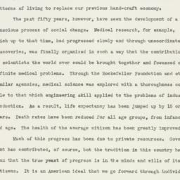 Memorandum : 1947 March 27