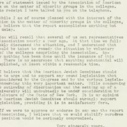 Letter : 1948 January 8