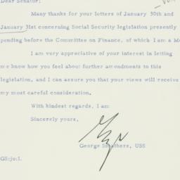 Letter : 1956 February 3