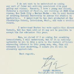 Letter : 1956 June 22
