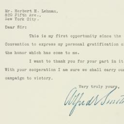 Letter : 1928 August 8