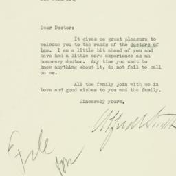 Letter : 1929 June 25