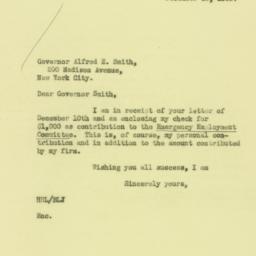 Letter : 1930 December 15