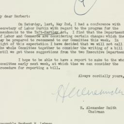 Letter : 1953 May 4