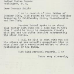 Letter : 1955 February 1