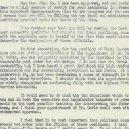 Letter : 1952 March 21
