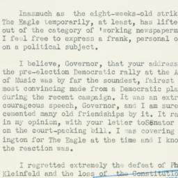Letter : 1937 November 4