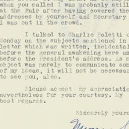 Letter: 1940 May 21