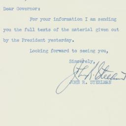 Letter : 1947 September 26