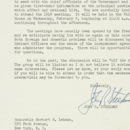 Letter : 1949 January 15