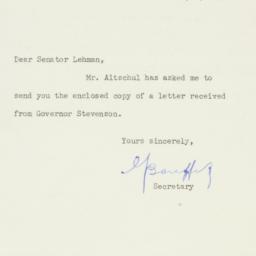 Letter : 1953 January 5