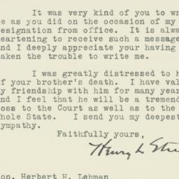 Letter : 1945 October 8