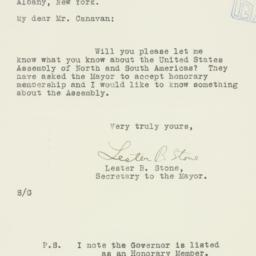 Letter : 1934 May 2