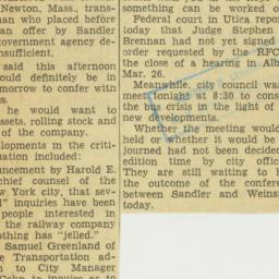 Clipping : 1952 April 7